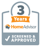 Home Advisor Screened & Approved 3 Years
