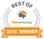 Best of Home Advisor 2016 Winner
