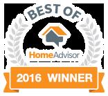 Best of Home Advisor 2016 Winner