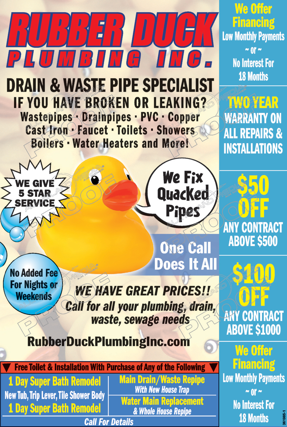 Rubber Duck Plumbing